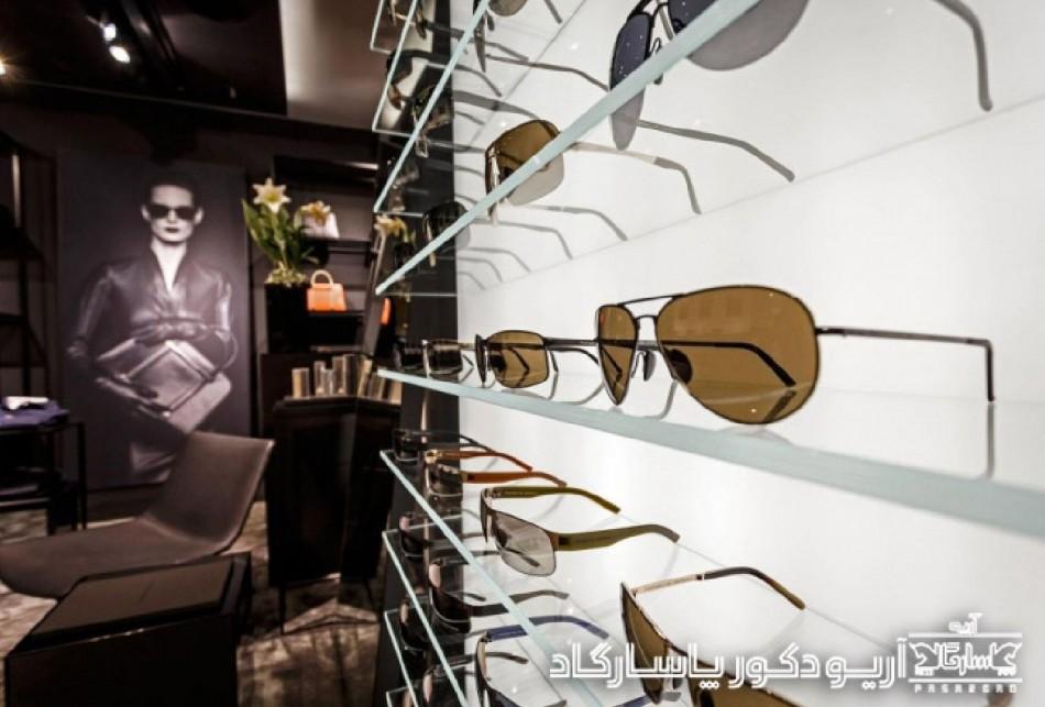 طراحی داخلی فروشگاه پورشه